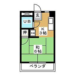 大森Uハウス[2階]の間取り