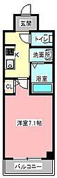 is常盤[8階]の間取り