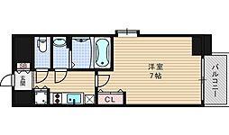 ファーストステージ江戸堀パークサイド[10階]の間取り