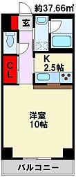 コンフォート高見[7階]の間取り