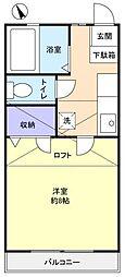 レマンハイツ八千代[2階]の間取り