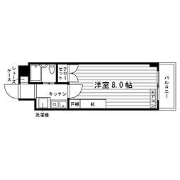 高島平セントラルコート[3階]の間取り