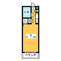 光洋サンビーム西春[3階]の間取り