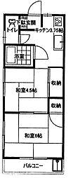 麦倉マンション[3階]の間取り
