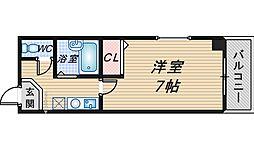 森マンション弐番館[102号室]の間取り