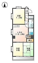 清和ビル[3階]の間取り