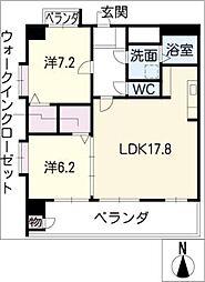 プロビデンス葵タワー[11階]の間取り