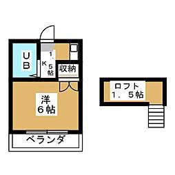 アシスト小幡南[2階]の間取り