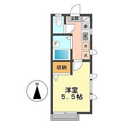 東京都江戸川区南小岩7の賃貸アパートの間取り