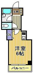 パークライフ高橋[3階]の間取り