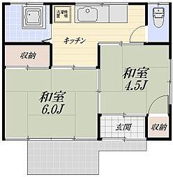 仏子駅 4.5万円