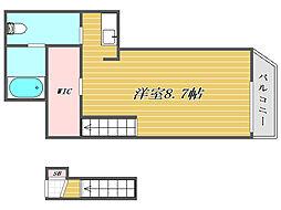 東京都板橋区宮本町の賃貸アパートの間取り