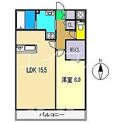 ウィル・フォーレスト A棟[3階]の間取り