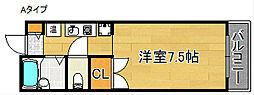 マ・メゾン21[5階]の間取り