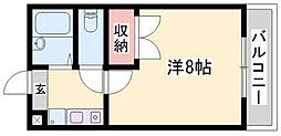 ドリーム三条Ⅱ[1階]の間取り