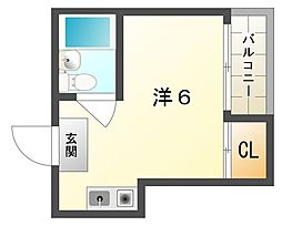 アクティ大和[3階]の間取り