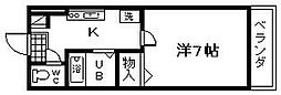 WIN和泉大宮[203号室]の間取り