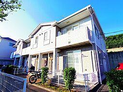 東京都東大和市狭山1丁目の賃貸アパートの外観