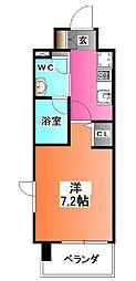 東京都北区王子5の賃貸マンションの間取り
