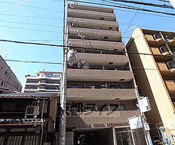 京都府京都市下京区富小路通万寿寺上る本上神明町の賃貸マンションの外観