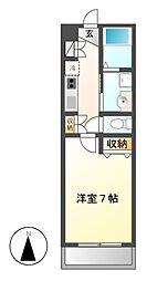 スタシオン泉[3階]の間取り