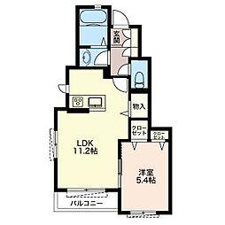 LSY−54[1階]の間取り