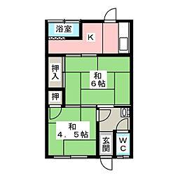 [一戸建] 愛知県稲沢市長束町観音寺田 の賃貸【/】の間取り