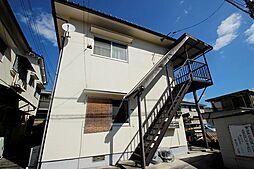 広島県広島市安佐南区安東2丁目の賃貸アパートの外観