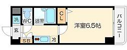 クラウンハイム相川フラワーコート[5階]の間取り
