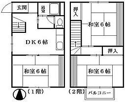 [テラスハウス] 神奈川県横浜市戸塚区上倉田町 の賃貸【/】の間取り