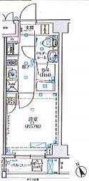 京急本線 日ノ出町駅 徒歩5分の賃貸マンション 7階1Kの間取り