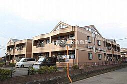 岡山県倉敷市東富井の賃貸マンションの外観
