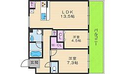 Ken´ court[203号室]の間取り
