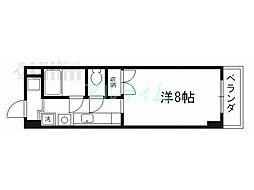 セント吉翔[4階]の間取り