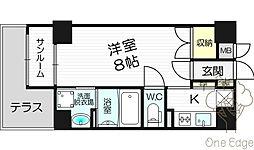新栄プロパティ−TEN8[6階]の間取り