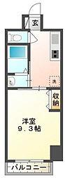 神奈川県横浜市中区北仲通2丁目の賃貸マンションの間取り