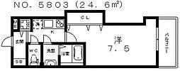 Luxe我孫子(ラグゼ我孫子)[6階]の間取り