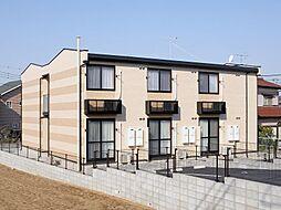 埼玉県さいたま市西区佐知川の賃貸アパートの外観