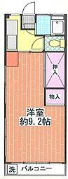 シャルムハヤカワ[1階]の間取り