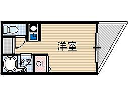 ラポート37[6階]の間取り