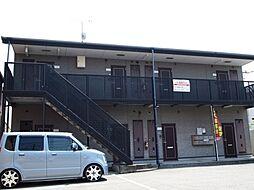 兵庫県姫路市網干区新在家の賃貸アパートの外観
