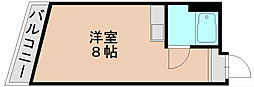 西島ビル[5階]の間取り