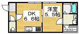 プロパティビル[1階]の間取り
