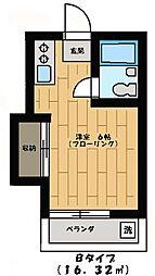 三協ハウス[25号室]の間取り