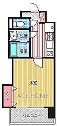 Luxe新大阪III[418号室号室]の間取り