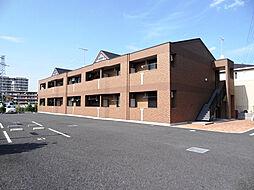 埼玉県熊谷市久保島の賃貸アパートの外観
