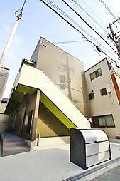 大阪府大阪市住吉区万代4丁目の賃貸アパートの外観
