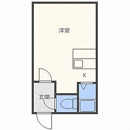 TS札幌[3階]の間取り