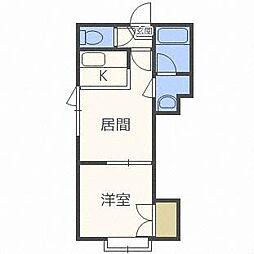 TMS円山[2階]の間取り