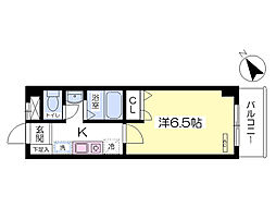 JR中央線 八王子駅 バス20分 左入下車 徒歩3分の賃貸マンション 1階1Kの間取り